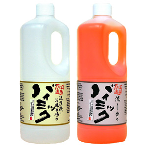 Commercial bio deodorant for hand バイミック 1 liter or sink バイミック 1 liter or washing machine and bath バイミック 1 liter value find 2 book set