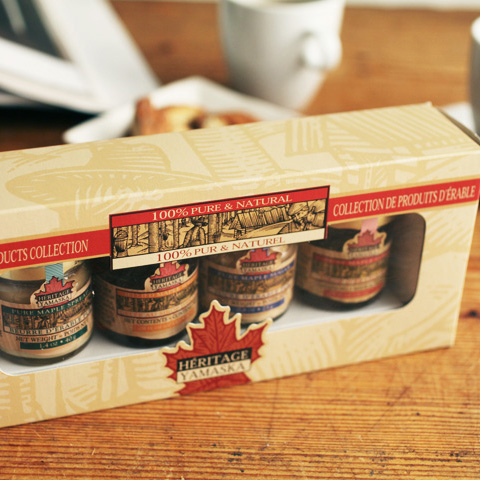 (Heritage Yamaska) HERITAGE YAMASKA Maple collection box