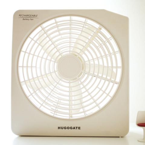 HUGOGATE 10-inch rechargeable portable single fan circulators and waveguide Circulator / fan (50% off)