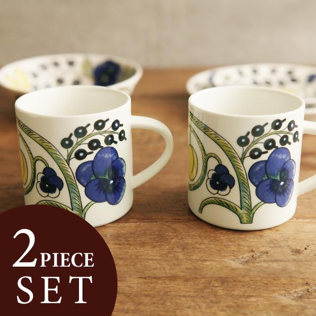 ARABIA (Arabia) Paratiisi mug cup pair set