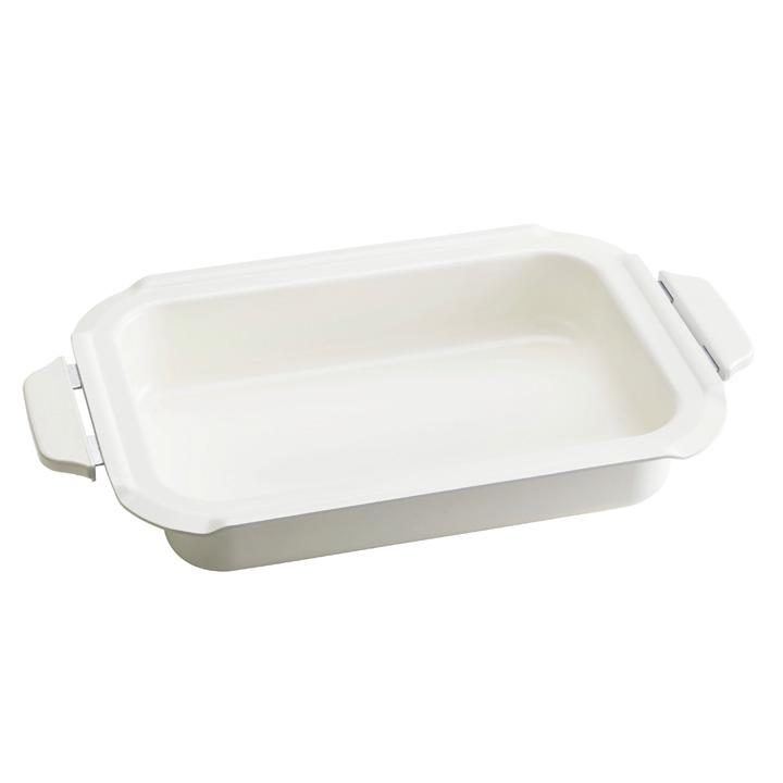 BRUNO 브루노 소형 핫 플레이트 용 세라믹 코팅 냄비
