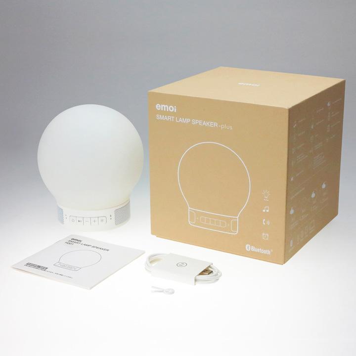 【楽天市場】スマートランプスピーカー プラス/smart Lamp Speaker Plus:アンジェ(インテリア雑貨)