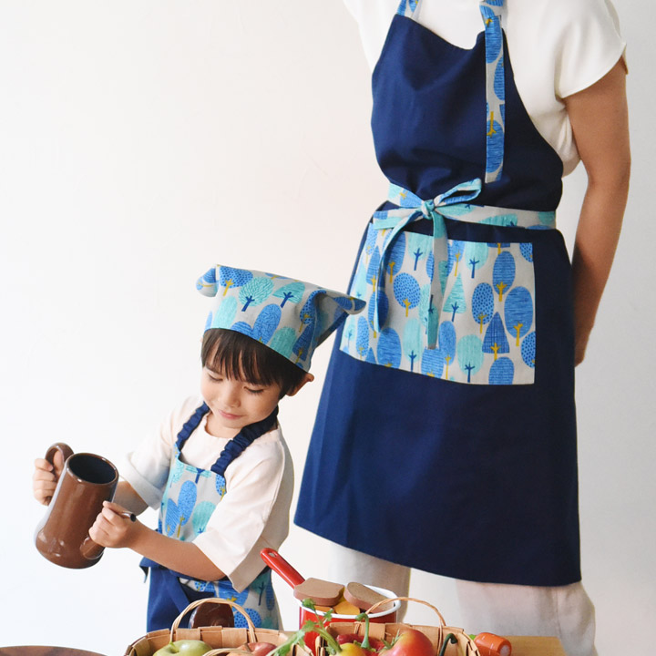 親子リンク 激安 激安特価 送料無料 親子セット 日本全国 送料無料 料理教室 キッズエプロン 親子エプロン お菓子作り