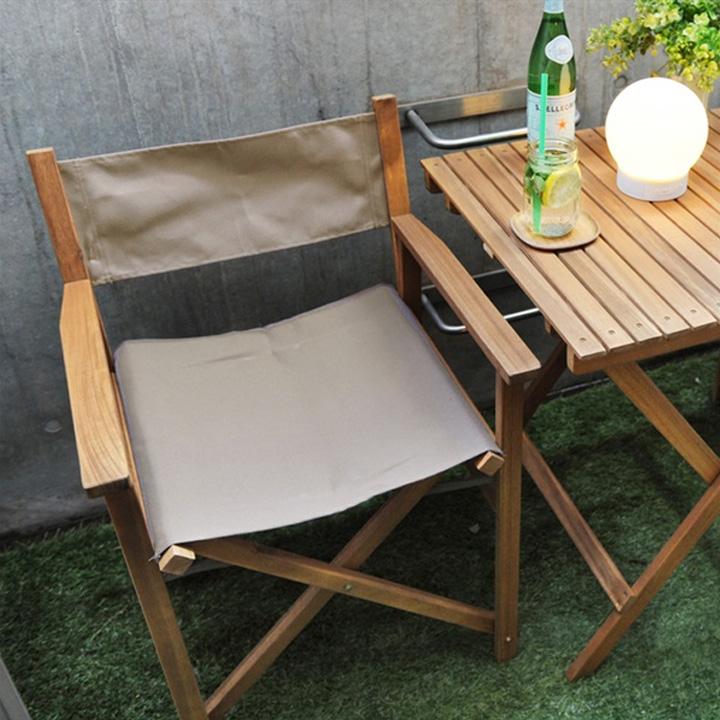 楽天市場 patio ディレクターチェア 折りたたみ アウトドアチェア
