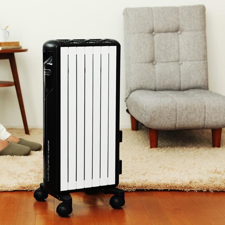 デロンギ マルチダイナミックヒーター ミニ DeLonghi MDH09 [暖房 パネルヒーター オイルヒーター オイルレスヒーター]【送料無料】
