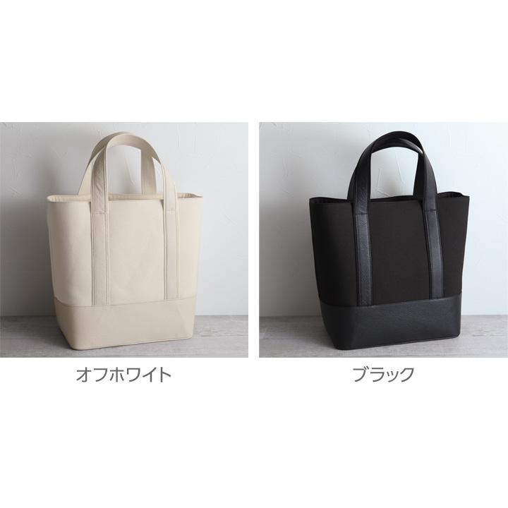 Garuglieri 캔버스 × 레더 토트 백/ガルリエリ