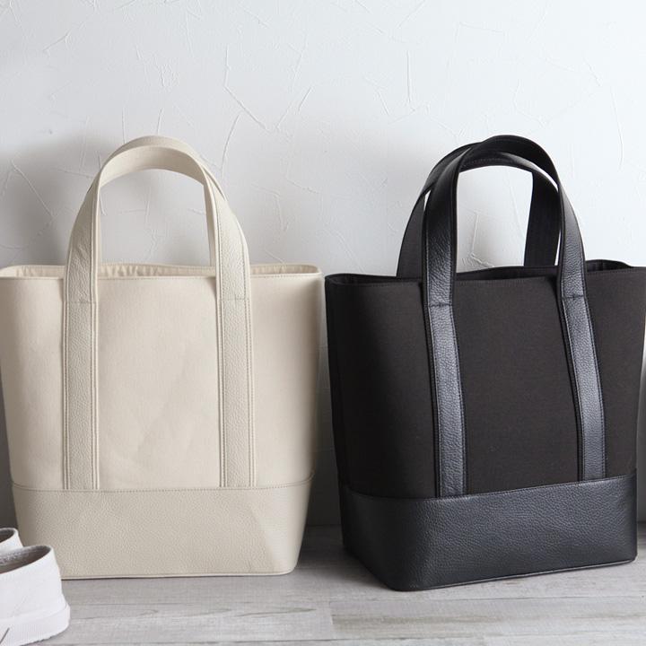 garuglieri canvas / leather tote bag / Gallery