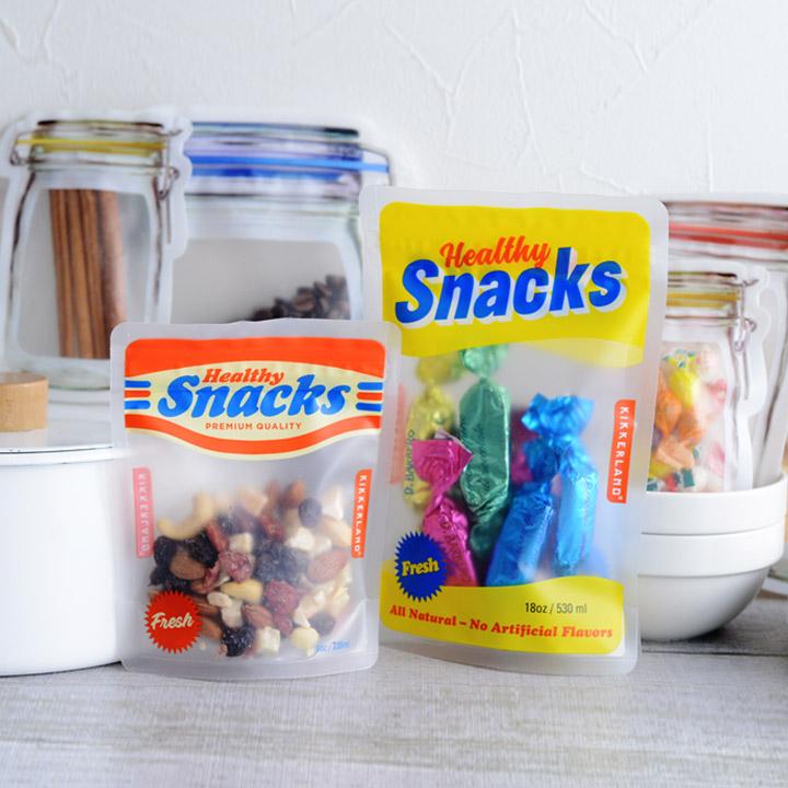 ジッパーバッグ 食品 保存 収納袋 ジャー 激安通販販売 Bags キッチン SNS 送料無料(一部地域を除く) KIKKERLAND Zipper
