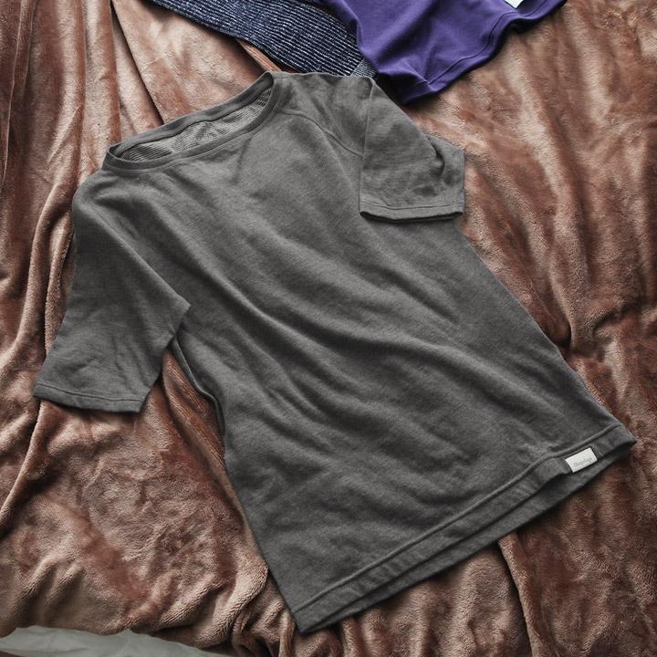 A.A.TH繊維 流行 血流促進 一部予約 睡眠サポート リカバリーウェア Sleepdays 送料無料 スリープデイズリカバリーショートスリーブTシャツ