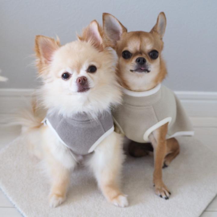 スリーパー 犬 ベスト ドッグ 防寒 ネコポス対応 新登場 ドッグウェア ドッグベスト dog 大幅にプライスダウン for フリーススリーパー