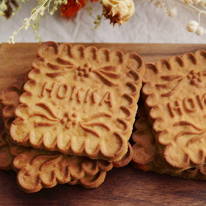 北陸製菓 金沢お菓子 新品 送料無料 おやつ プチギフト 数量は多 5枚入り 米蜜ビスケット hokka ホッカ