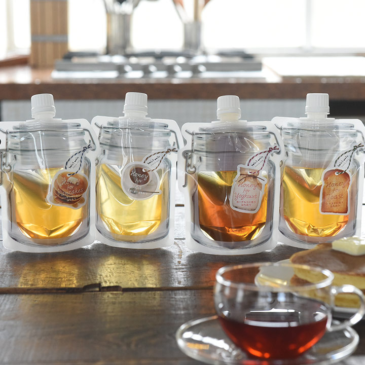 ミニギフト プチギフト ハニー 用途別 はちみつ ハチミツ 蜂蜜 プレゼント ネコポス対応 店内全品対象 新商品 はちみつ専門店 ミールミィ おうち時間が楽しくなる miel mie パウチ入り蜂蜜