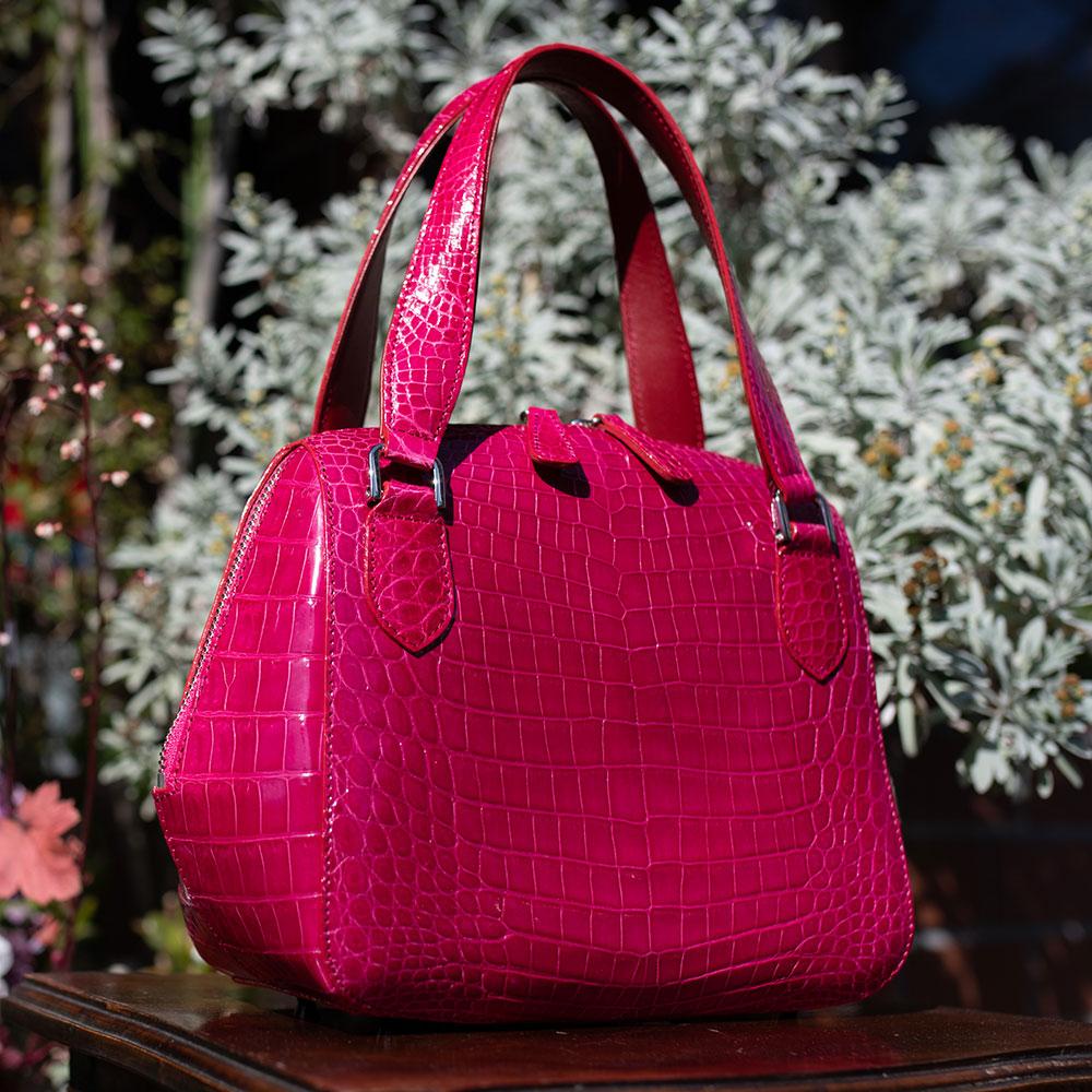 【送料無料】クロコダイル バッグ パーティーバッグ レディース バッグ おしゃれ かわいい ハンドバッグ 高級 新作