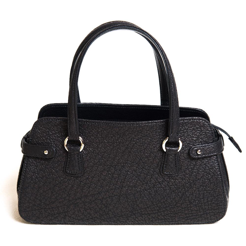 フォーマルバッグ 黒 弔事 シャークスキン 高級 和装用、呉服用として。シャークの中でも最も高級なブルーシャークを使ったおしゃれなハンドバッグです【送料無料】 アンジーザキャット