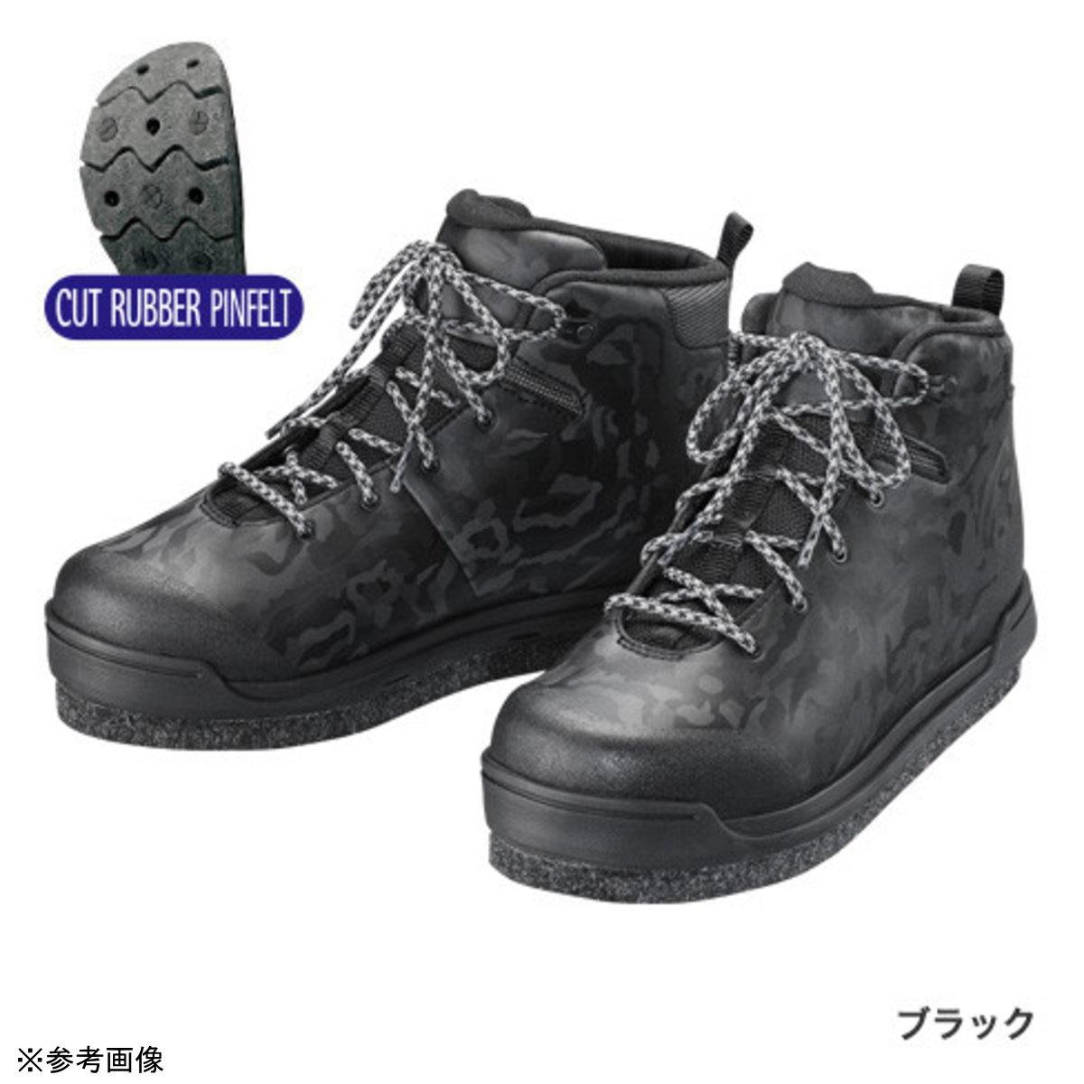 【送料無料5】シマノ ジオロックシューズ FS-080T ブラック 25.5