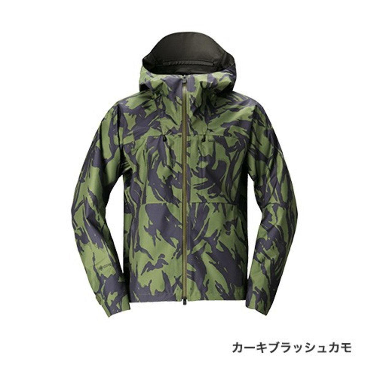 【送料無料4】シマノ GORE-TEX エクスプローラーレインジャケット RA-01JT カーキブラッシュカモ L