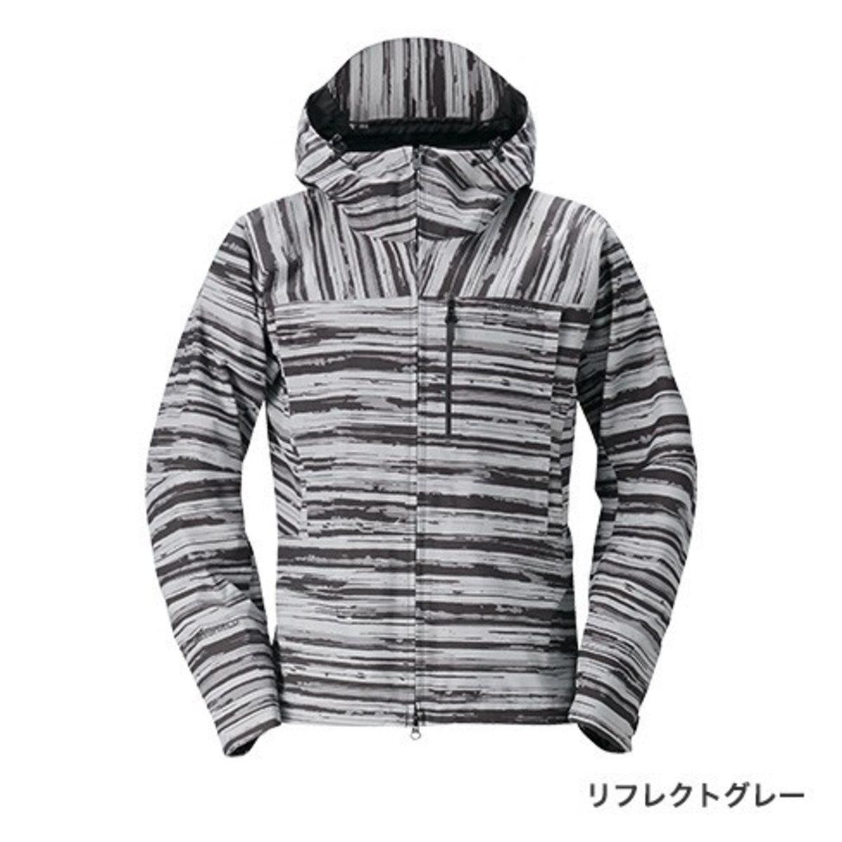【送料無料4】シマノ DSエクスプローラーレインジャケット RA-04JT リフレクトグレー M