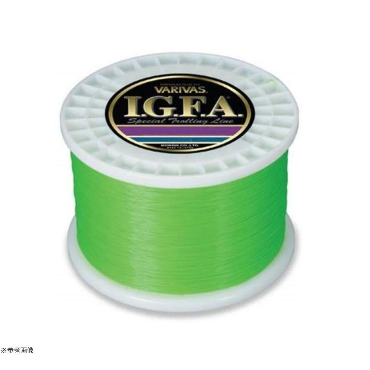 【送料無料4】モーリス ライン VARIVAS I.G.F.A. スペシャルトローリングライン フラッシュグリーン 1800m 130LB
