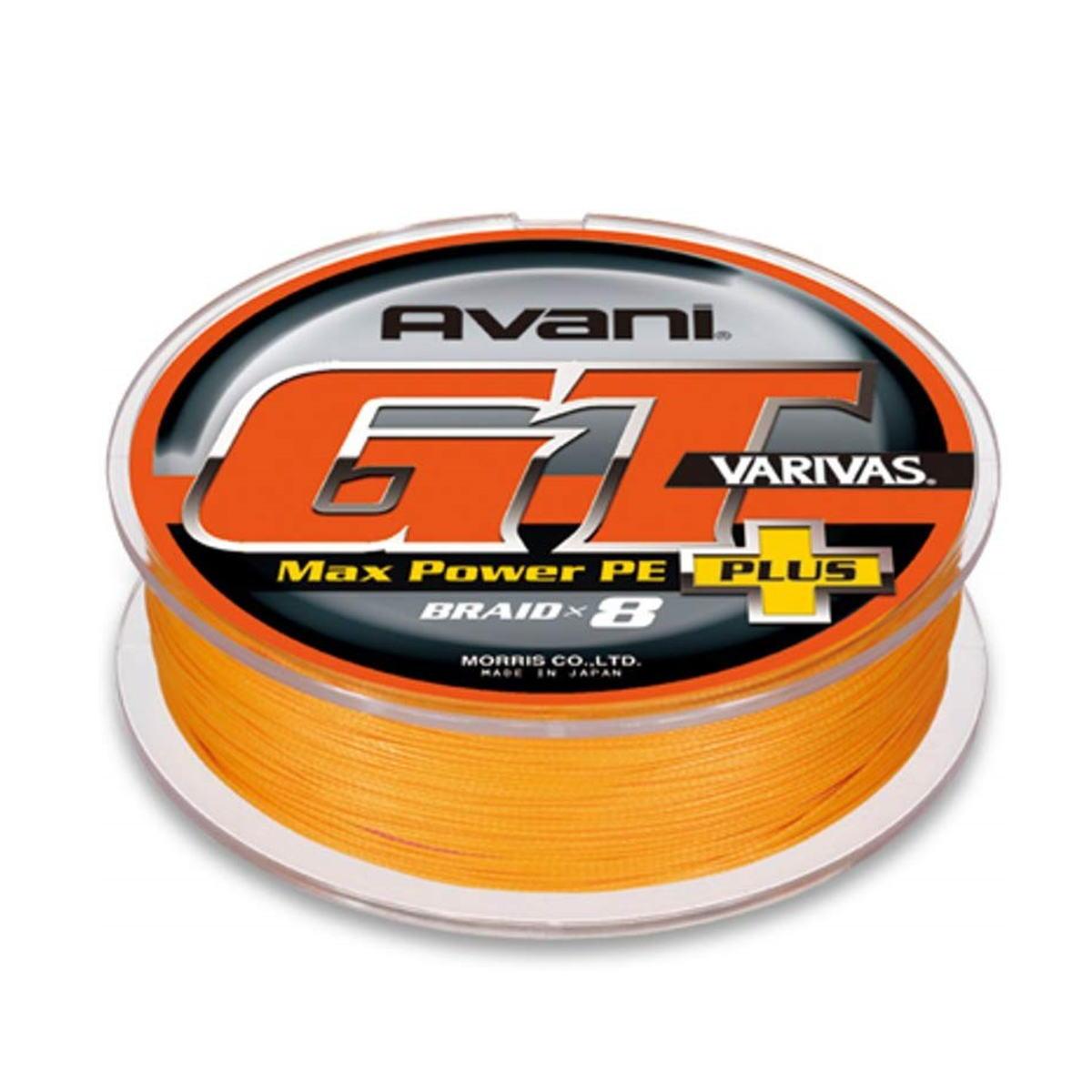 【送料無料4】モーリス ライン VARIVAS アバニ GT マックスパワー プラス 300m 10号