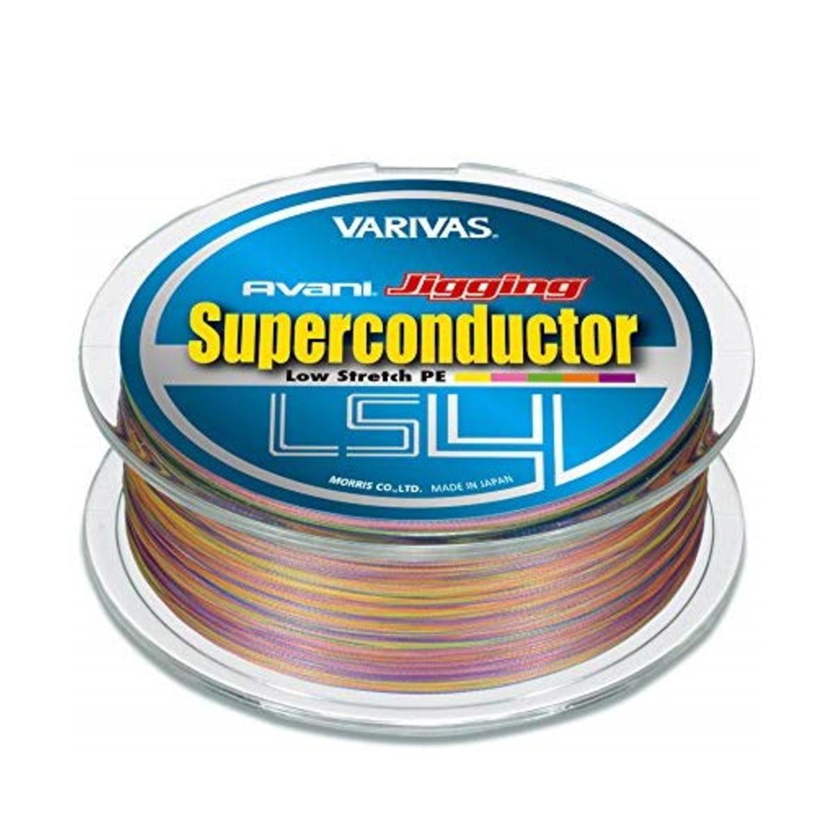 【送料無料4】モーリス ライン VARIVAS アバニ ジギング スーパーコンダクターPE LS4 600m 0.6号