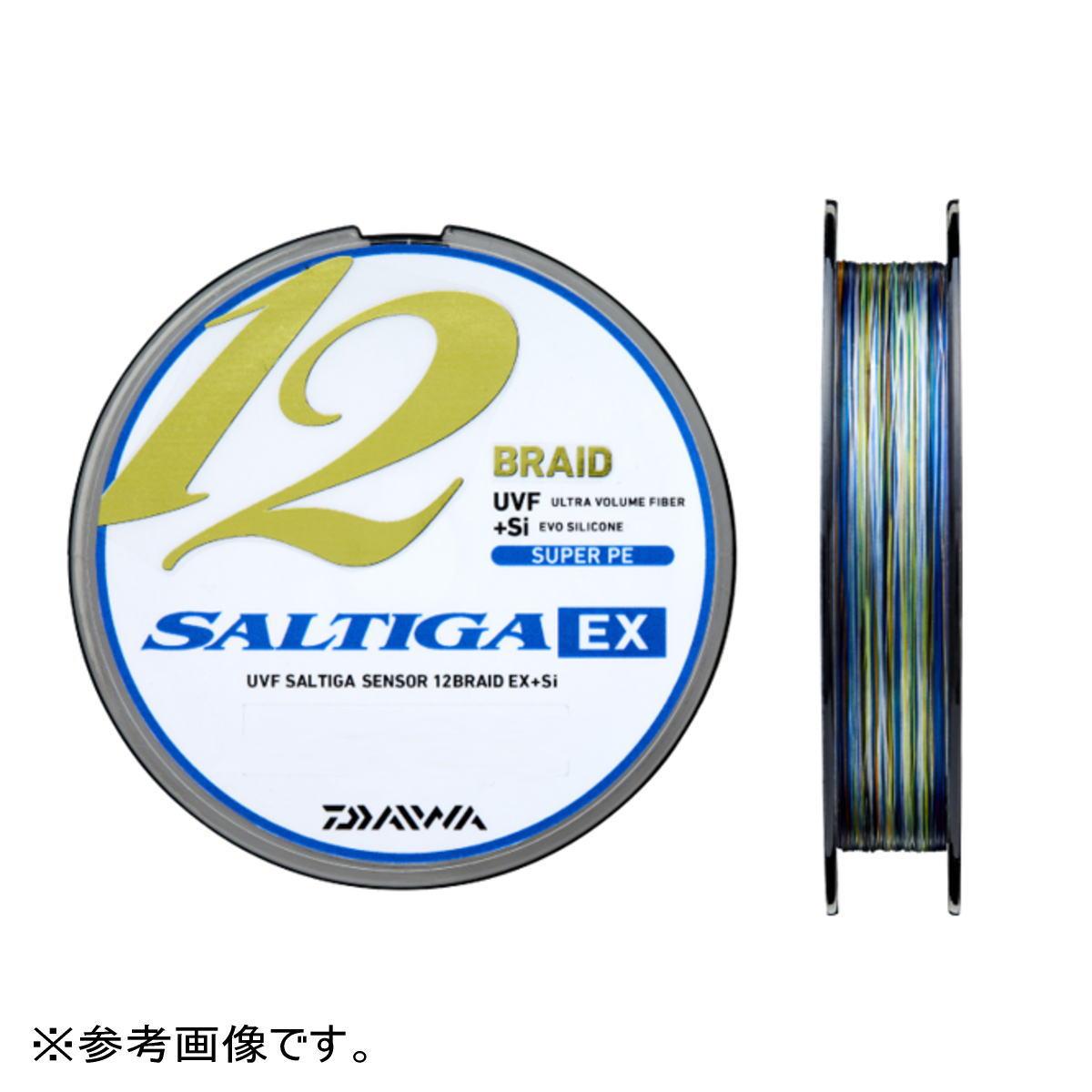 ダイワ WEB限定 ライン UVF ソルティガセンサー 12ブレイドEX 4 Si 300m 8号 贈物