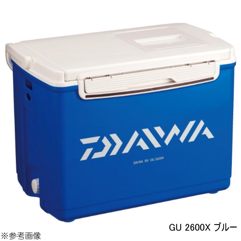 【送料無料2】クーラーボックス ダイワ RX GU 2600X ブルー