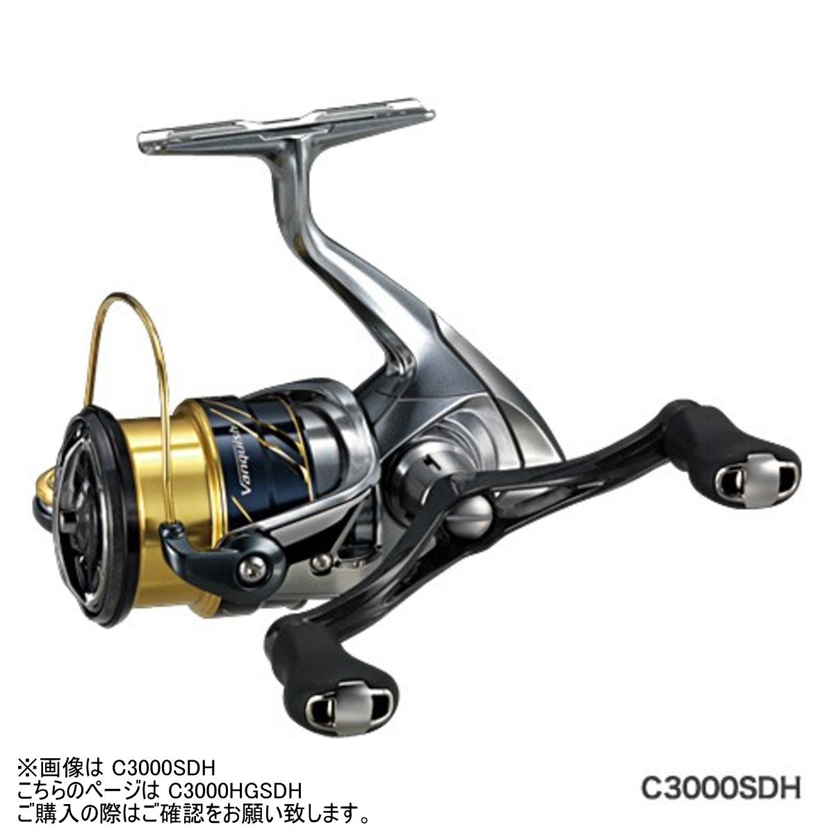 【送料無料4】シマノ リール '16 ヴァンキッシュ C3000HGSDH