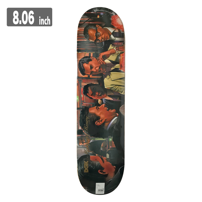 DGK MOBSTER MARQUISE HENRYディージーケー スケートボード デッキ 8.06