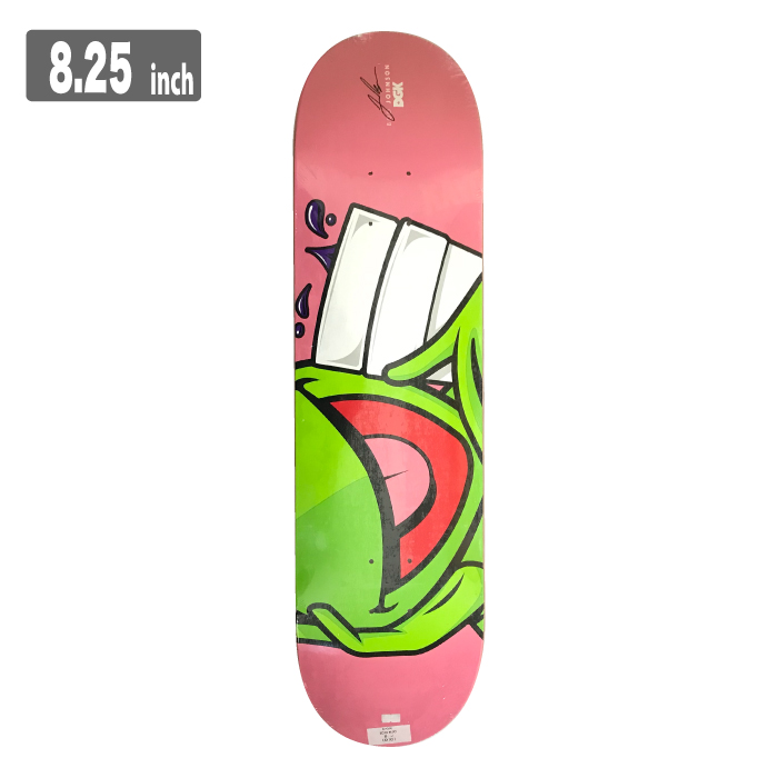 DGK ICONIC ディージーケー スケートボード デッキ 8.25