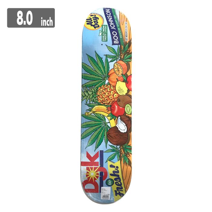 DGK TASTY BOO JOHNSONディージーケー スケートボード デッキ 8.0inch