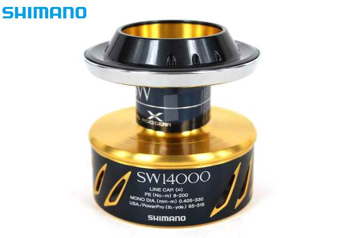 シマノ 13ステラSW 14000スペアスプール