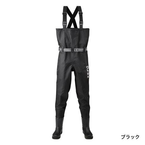 シマノ (Shimano) WA-251Q ブラック 3Lサイズ XEFO・マックスデュラウェーダー (中丸チェストハイ・ラジアルソールタイプ)