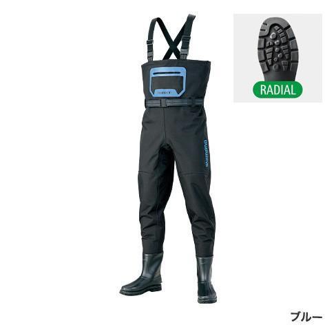 シマノ(Shimano) FF-044S ブルー 3Lサイズ アドバンスウェーダー(ラジアルソール)
