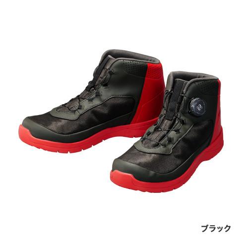 シマノ (Shimano) FS-083P ブラック 25.0サイズ ドライシールド・ラジアルスパイクフィットシューズ