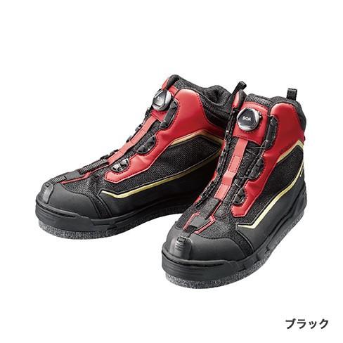シマノ(Shimano)FS-155R 23.0 ブラック  ドライシールド・ジオロック・カットラバーピンフェルトシューズ