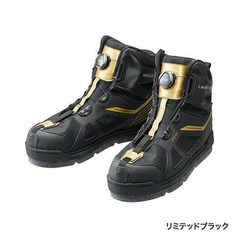 シマノ (Shimano) FS-175R リミテッドブラック 25.0サイズ GORE-TEX® フレックスラバーピンフェルトシューズ LIMITED PRO