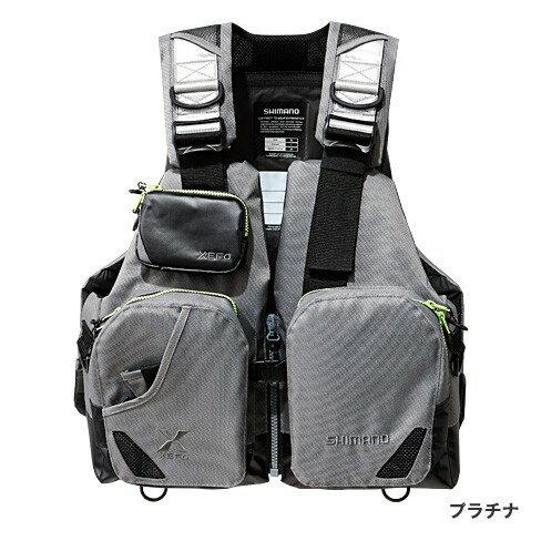 シマノ (Shimano) VF-272N プラチナ フリーサイズ XEFO・TACKLE FLOAT Jacket (basic)
