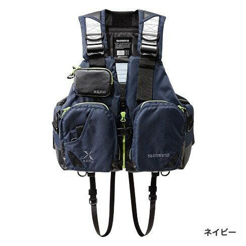 シマノ(Shimano) VF-272N ネイビー フリー XEFO・TACKLE FLOAT Jacket (basic)