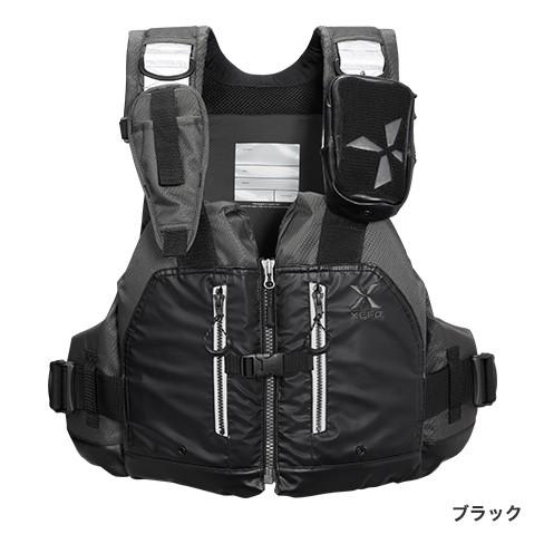 シマノ (Shimano) VF-297Q ブラック フリーサイズ (裾囲最大/145cm) XEFO・ROCK TRAVERSE VEST