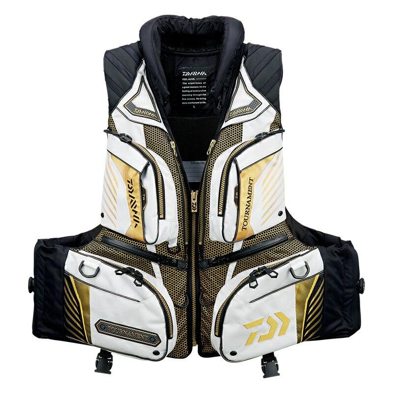 ダイワ (Daiwa) DF-3108T Lightgray Mサイズ(トーナメント バリアテック® 枕つきサイバーフロート)