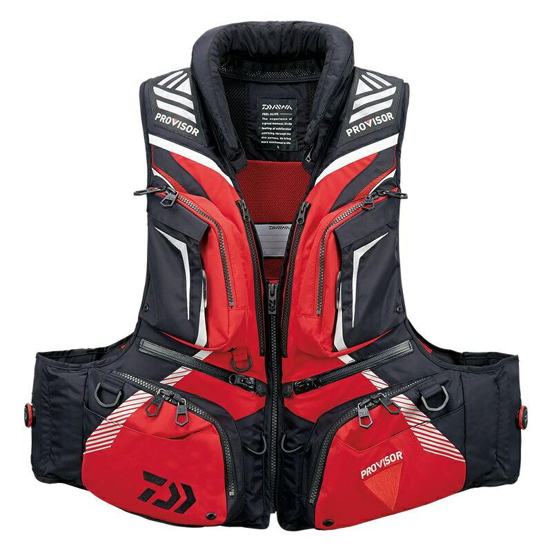 ダイワ (Daiwa) DF-3208 Red XLサイズ(プロバイザー バリアテック® 枕付きサイバーフロート)