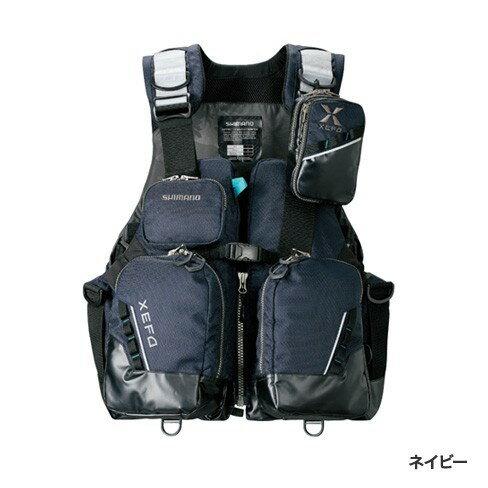 シマノ (Shimano) VF-275R ネイビー 2XLサイズ (裾囲最大/164cm)XEFO・トリッパーゲームベスト