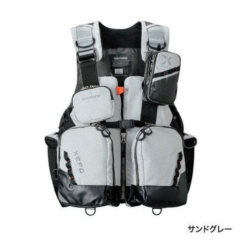 シマノ (Shimano) VF-275R サンドグレー Mサイズ (裾囲最大/124cm)XEFO・トリッパーゲームベスト