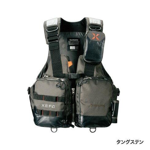 シマノ (Shimano) VF-274R タングステン 2XLサイズ(裾囲最大/149cm)XEFO・アクトゲームベスト