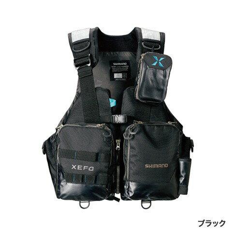 シマノ (Shimano) VF-274R ブラック XLサイズ(裾囲最大/149cm)XEFO・アクトゲームベスト