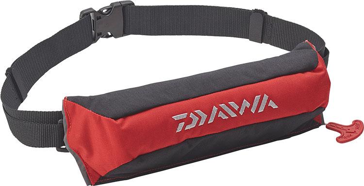 ダイワ (Daiwa) DF-2220 レッド フリーサイズ (コンパクトライフジャケット(ウエストタイプ自動・手動膨脹式))