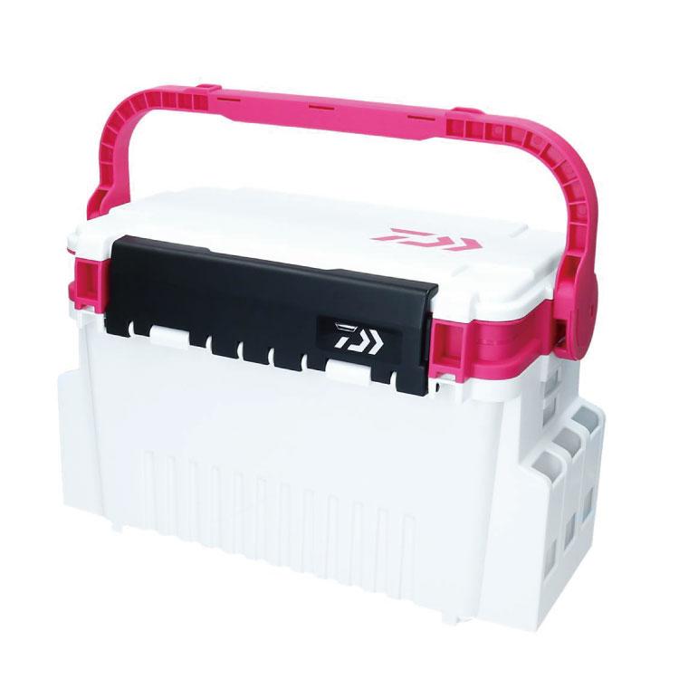多釣種で使い易い汎用サイズ ダイワ Daiwa タックルボックスTB4000 価格交渉OK送料無料 ホワイト ピンク 新作続