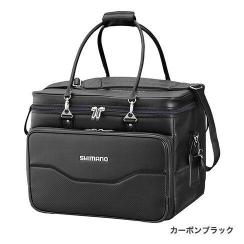 シマノ (Shimano) BA-012Q へらバッグXT カーボンブラック 40L
