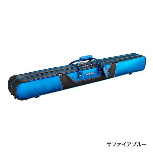 シマノ (Shimano) RC-012Q サファイアブルー 2層 MOVEBASE へらロッドケースXT