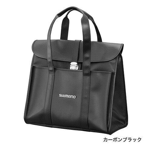 シマノ (Shimano) BA-043Q カーボンブラック へらサブバッグXT